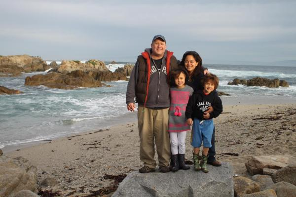 Victoria with family